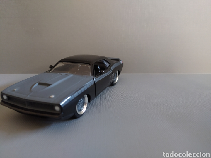 Coches a escala: Plymouth Barracuda 1:32 Fast & Furious - Foto 3 - 285215083