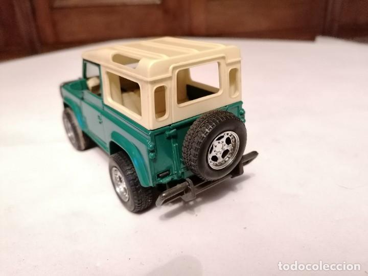 Coches a escala: New Ray 1/32 Land Rover Verde Buen Estado - Foto 4 - 287328823