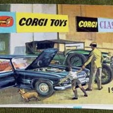 Coches a escala: CATALOGO DE CORGI TOYS 1965 EN INGLES. Lote 26447900