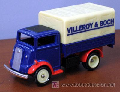 FURGONETA - CAMION -- FORDSON 7CV TRUCK -- CORGI TOYS / VILLEROY & BOCH (Juguetes - Coches a Escala 1:43 Corgi Toys)