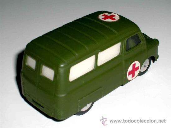 Coches a escala: Bedford ambulancia militar ref. 405, fabricada en metal por la casa Corgitoys, años 60. Excelente - Foto 3 - 26403657