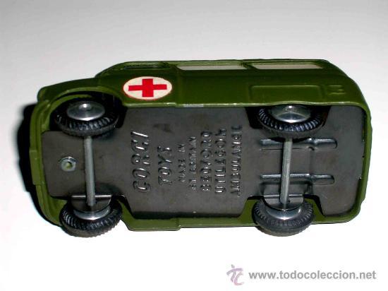 Coches a escala: Bedford ambulancia militar ref. 405, fabricada en metal por la casa Corgitoys, años 60. Excelente - Foto 5 - 26403657