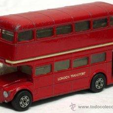 Coches a escala: AUTOBUS LONDON TRANSPORT ROUTEMASTER DE CORGI TOYS 1/43 SIN PUBLICIDAD. Lote 13512055