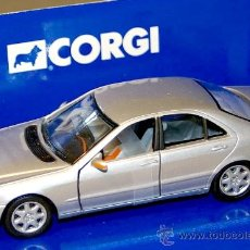 Coches a escala: MERCEDES BENZ S CLASS SEDAN BERLINA - ESCALA 1/43 - CORGI - NUEVO EN CAJA. Lote 23648007