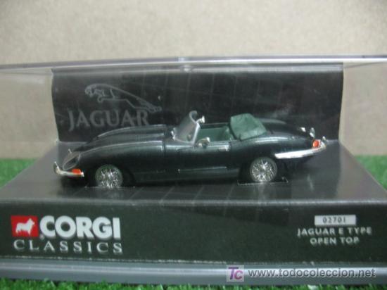 Corgi Jaguar E Type Open Top Buy Model Cars At Scale 1 43 Corgi