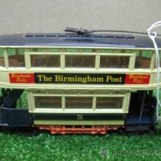 Coches a escala: CORGI -DICK KERR TYPE TRAM-TRANVIA THE BIRMINGHAM POST. Lote 23561761