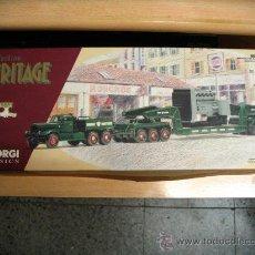 Coches a escala: CORGI HERITAGE 55303 DIAMOND T980, TRANSPORT EXCEPTIONNEL BOURGEY MONTREUIL NUEVO EN CAJA.. Lote 31822058