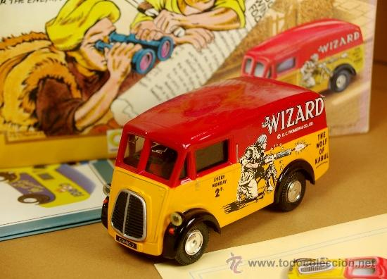 MORRIS WIZARD VAN - SERIE LIMITADA - 1991 CORGI COMIC CLASSICS 1/43 - NUEVO CON CAJA (Juguetes - Coches a Escala 1:43 Corgi Toys)