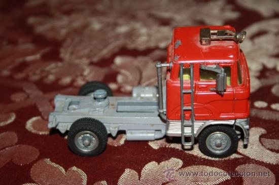 Coches a escala: CORGI TOYS - CAR TRANSPORTER WITH FORD TILT CAB 'H' SERIES TRACTOR 1138 - AÑOS 60 - CAJA ORIGINAL - Foto 4 - 35683979