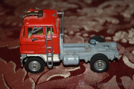 Coches a escala: CORGI TOYS - CAR TRANSPORTER WITH FORD TILT CAB 'H' SERIES TRACTOR 1138 - AÑOS 60 - CAJA ORIGINAL - Foto 6 - 35683979