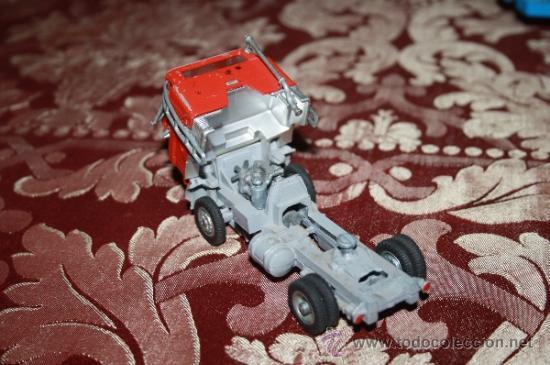 Coches a escala: CORGI TOYS - CAR TRANSPORTER WITH FORD TILT CAB 'H' SERIES TRACTOR 1138 - AÑOS 60 - CAJA ORIGINAL - Foto 7 - 35683979