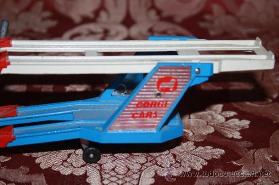 Coches a escala: CORGI TOYS - CAR TRANSPORTER WITH FORD TILT CAB 'H' SERIES TRACTOR 1138 - AÑOS 60 - CAJA ORIGINAL - Foto 11 - 35683979