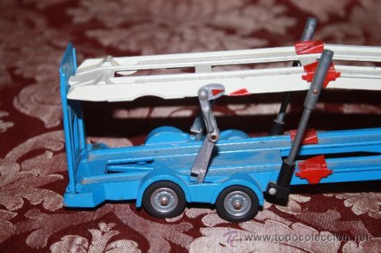 Coches a escala: CORGI TOYS - CAR TRANSPORTER WITH FORD TILT CAB 'H' SERIES TRACTOR 1138 - AÑOS 60 - CAJA ORIGINAL - Foto 12 - 35683979