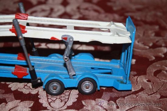 Coches a escala: CORGI TOYS - CAR TRANSPORTER WITH FORD TILT CAB 'H' SERIES TRACTOR 1138 - AÑOS 60 - CAJA ORIGINAL - Foto 14 - 35683979