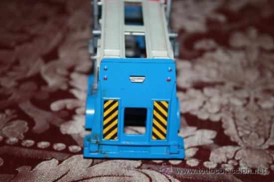 Coches a escala: CORGI TOYS - CAR TRANSPORTER WITH FORD TILT CAB 'H' SERIES TRACTOR 1138 - AÑOS 60 - CAJA ORIGINAL - Foto 15 - 35683979