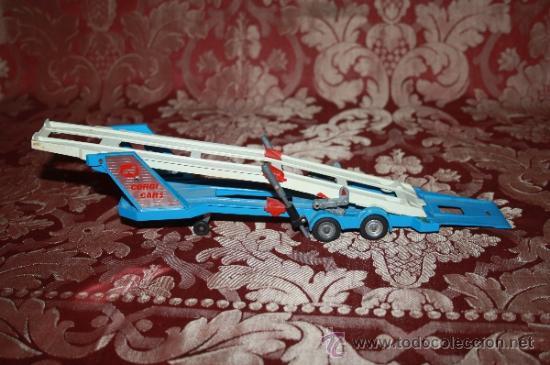 Coches a escala: CORGI TOYS - CAR TRANSPORTER WITH FORD TILT CAB 'H' SERIES TRACTOR 1138 - AÑOS 60 - CAJA ORIGINAL - Foto 16 - 35683979