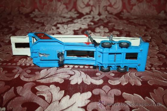 Coches a escala: CORGI TOYS - CAR TRANSPORTER WITH FORD TILT CAB 'H' SERIES TRACTOR 1138 - AÑOS 60 - CAJA ORIGINAL - Foto 17 - 35683979