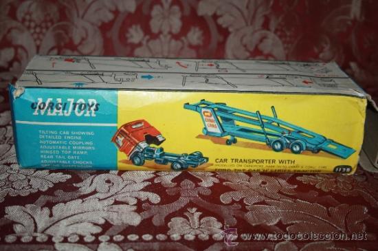 Coches a escala: CORGI TOYS - CAR TRANSPORTER WITH FORD TILT CAB 'H' SERIES TRACTOR 1138 - AÑOS 60 - CAJA ORIGINAL - Foto 24 - 35683979