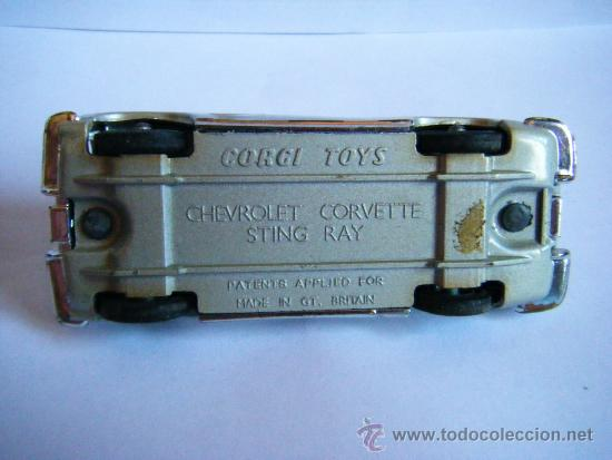 Coches a escala: CHEVROLET CORVETTE STING RAY CORGI TOYS - Foto 4 - 36597382