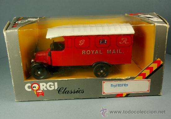 Coches a escala: RENAULT 1926 ROYAL MAIL VAN - CORGI CLASSICS 1/43 - 1985 - NUEVO EN CAJA - Foto 2 - 37560805