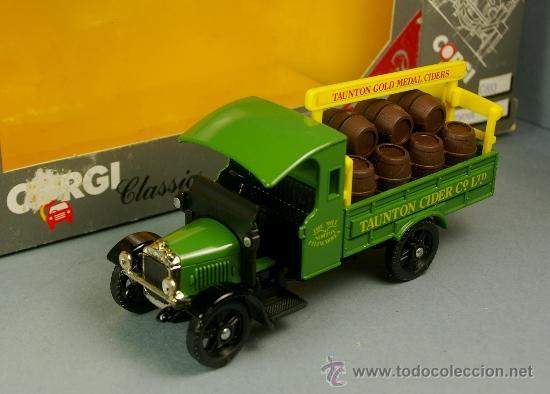 THORNYCROFT VAN TAUNTON CIDER - CORGI CLASSICS 1/43 EDICION LIMITADA - 1985 - NUEVO EN CAJA (Juguetes - Coches a Escala 1:43 Corgi Toys)