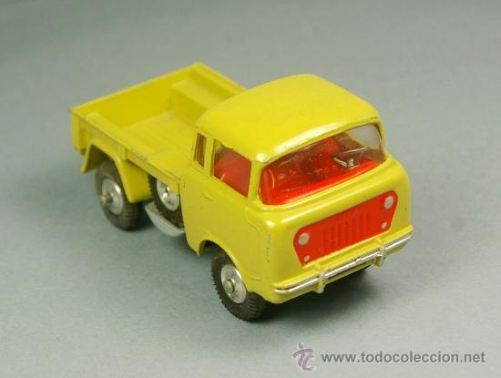 JEEP FC 150 PICK-UP 4X4 PICKUP- CORGI TOYS 1965 - MADE IN GT. BRITAIN - VINTAGE - ESCALA 1/43 - RARO (Juguetes - Coches a Escala 1:43 Corgi Toys)