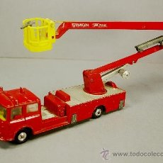 Coches a escala: CAMION SIMON SNORKEL FIRE ENGINE BOMBEROS - 1127 CORGI TOYS 1964 - MADE IN GT. BRITAIN - VINTAGE. Lote 37883592