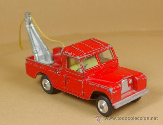 LAND ROVER 109 PICK-UP RECOVERY WRECK GRUA PICKUP - CORGI TOYS MADE IN G. B. 1/43 - VINTAGE (Juguetes - Coches a Escala 1:43 Corgi Toys)