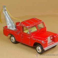 Coches a escala: LAND ROVER 109 PICK-UP RECOVERY WRECK GRUA PICKUP - CORGI TOYS MADE IN G. B. 1/43 - VINTAGE. Lote 38364696