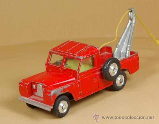 Coches a escala: LAND ROVER 109 PICK-UP RECOVERY WRECK GRUA Pickup - CORGI TOYS Made in G. B. 1/43 - VINTAGE - Foto 2 - 38364696