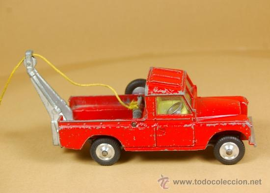 Coches a escala: LAND ROVER 109 PICK-UP RECOVERY WRECK GRUA Pickup - CORGI TOYS Made in G. B. 1/43 - VINTAGE - Foto 3 - 38364696