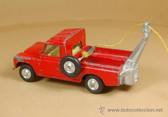 Coches a escala: LAND ROVER 109 PICK-UP RECOVERY WRECK GRUA Pickup - CORGI TOYS Made in G. B. 1/43 - VINTAGE - Foto 4 - 38364696