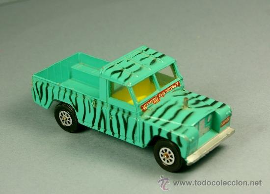 LAND ROVER 109 PICK-UP DAKTARI WAMERU SUR DISTRICT PICKUP - CORGI TOYS MADE IN G. B. 1/43 - VINTAGE (Juguetes - Coches a Escala 1:43 Corgi Toys)