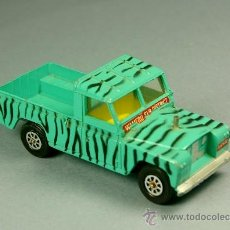 Coches a escala: LAND ROVER 109 PICK-UP DAKTARI WAMERU SUR DISTRICT PICKUP - CORGI TOYS MADE IN G. B. 1/43 - VINTAGE. Lote 38364766