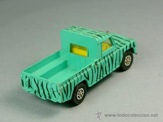 Coches a escala: LAND ROVER 109 PICK-UP DAKTARI WAMERU SUR DISTRICT Pickup - CORGI TOYS Made in G. B. 1/43 - VINTAGE - Foto 4 - 38364766