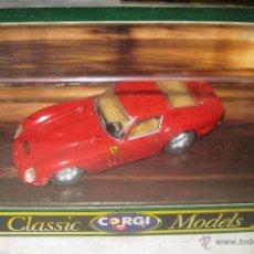 Voitures à l'échelle: FERRARI 250 GTO CORGI EN CAJA.. Lote 40622014
