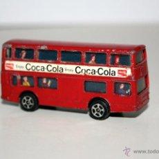 Coches a escala: DAIMLER FREETLINE BUS INGLES , MARCA CORGI , MADE IN BRITAIN , 7 X 3 CMS - AÑOS 70/80. Lote 40716643
