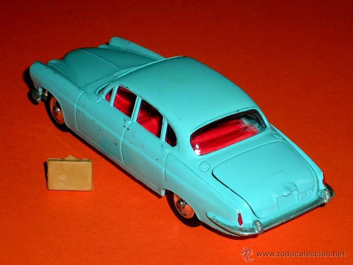 Coches a escala: Jaguar Mark X Saloon 238, fabricado en metal, Corgi Toys, original años 60. - Foto 2 - 41493123