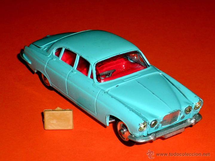 Coches a escala: Jaguar Mark X Saloon 238, fabricado en metal, Corgi Toys, original años 60. - Foto 4 - 41493123