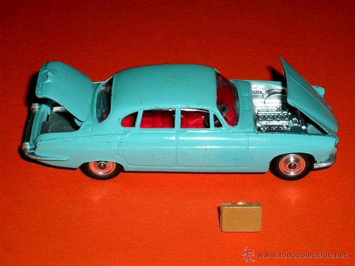Coches a escala: Jaguar Mark X Saloon 238, fabricado en metal, Corgi Toys, original años 60. - Foto 5 - 41493123