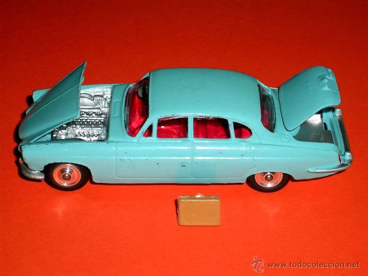 Coches a escala: Jaguar Mark X Saloon 238, fabricado en metal, Corgi Toys, original años 60. - Foto 6 - 41493123