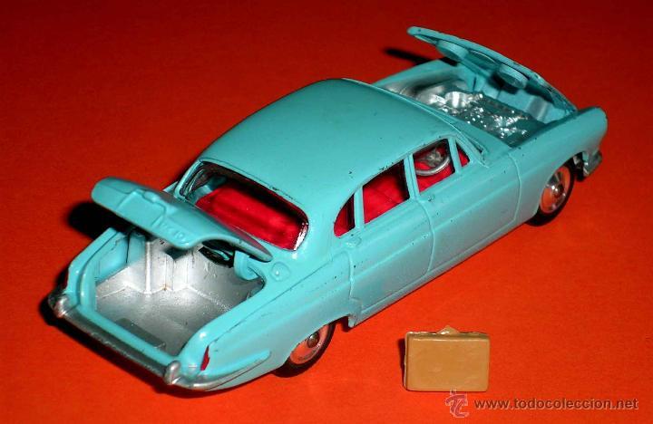 Coches a escala: Jaguar Mark X Saloon 238, fabricado en metal, Corgi Toys, original años 60. - Foto 7 - 41493123