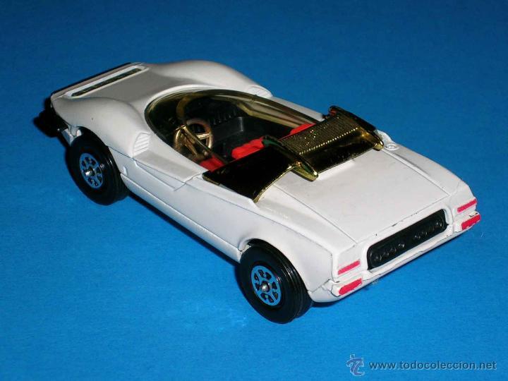Coches a escala: Alfa Romeo P33 Pininfarina, metal, 1/43, Made in England by Corgi Toys. Original años 70. Excelente. - Foto 2 - 41699537