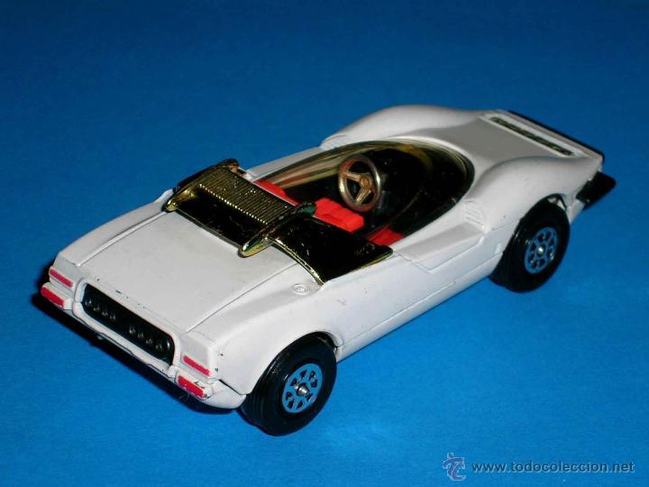 Coches a escala: Alfa Romeo P33 Pininfarina, metal, 1/43, Made in England by Corgi Toys. Original años 70. Excelente. - Foto 3 - 41699537