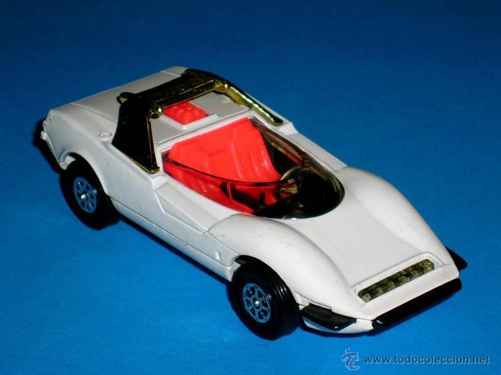 Coches a escala: Alfa Romeo P33 Pininfarina, metal, 1/43, Made in England by Corgi Toys. Original años 70. Excelente. - Foto 4 - 41699537