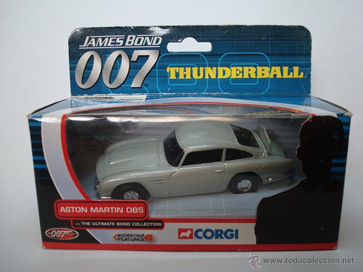 CORGI - JAMES BOND - ASTON MARTIN DB5 - THUNDERBALL - OPERACIÓN TRUENO (Juguetes - Coches a Escala 1:43 Corgi Toys)