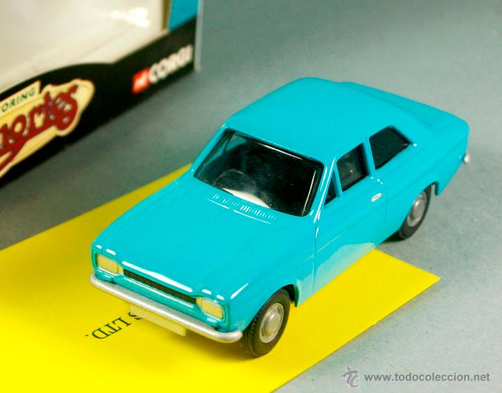 Coches a escala: CORGI 67001 1/43 1998- FORD ESCORT Mk-I Sedan - PROMOCIONAL FORD Collectables PUB Vintage NUEVO/CAJA - Foto 1 - 43365246