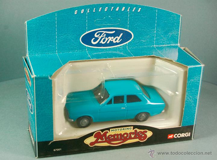 Coches a escala: CORGI 67001 1/43 1998- FORD ESCORT Mk-I Sedan - PROMOCIONAL FORD Collectables PUB Vintage NUEVO/CAJA - Foto 5 - 43365246