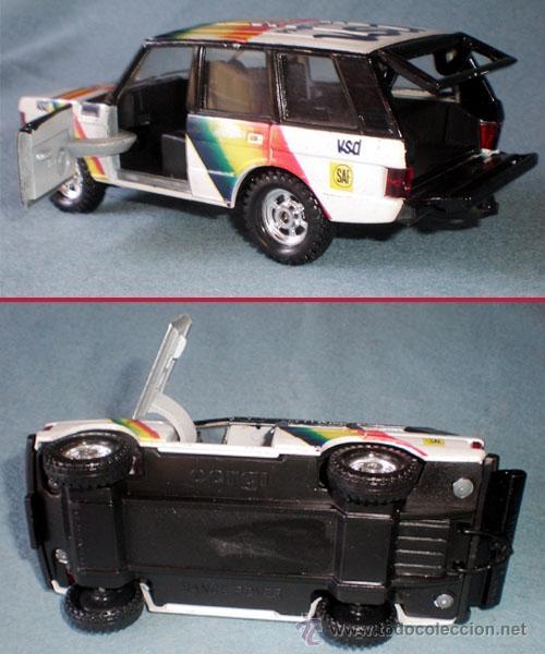 Coches a escala: AUTO RANCE ROVER MARCA CORGI MARCA BRITANICA. NUEVO. MEDIDAS 13,3 x 5,5 x 5 cm. - Foto 2 - 44886527