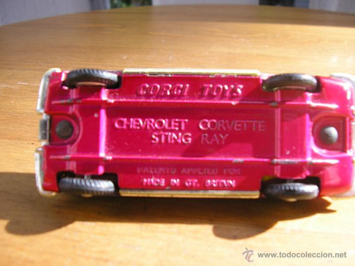 Coches a escala: CHEVROLET CORVETTE STING RAY, CORGI TOYS - Foto 10 - 46038339